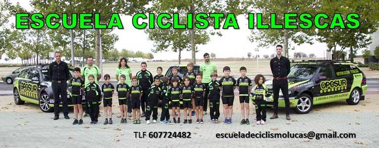 patrocinio Urbancleaner toledo escuela ciclista illescas