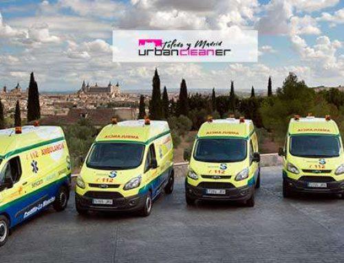 Ambulancias Finisterre apuesta por la Desinfección Certificada de UrbanCleaner Toledo