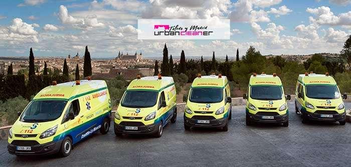 limpieza tapicerias ambulancia